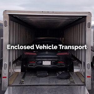 enclosed vehicle transport