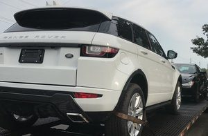 land rover car shipping